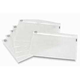 Plast lommer klar 110 x 230 mm 1000 stk