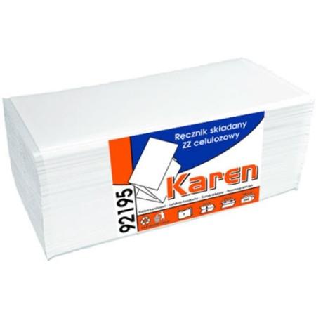 Papir håndklæd 2 lag 3200 stk. hvid