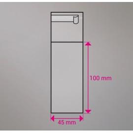 Cellofan pose 90x130 mm 100 stk