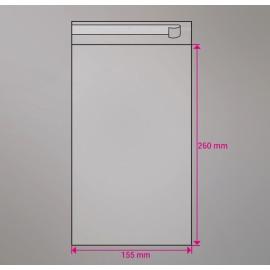 Cellofan pose 235x52 mm 100 stk