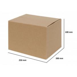Papkasser 250x200x100 - 20 stk.