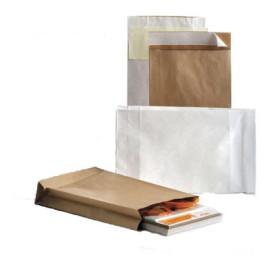 Emballage konvolut C-4 Hvid 250 stk.