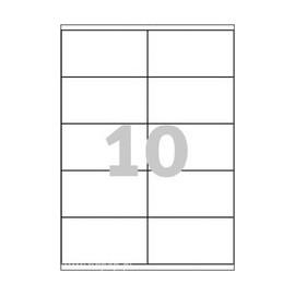 1000 stk. etiketter 105 x 59,4 mm